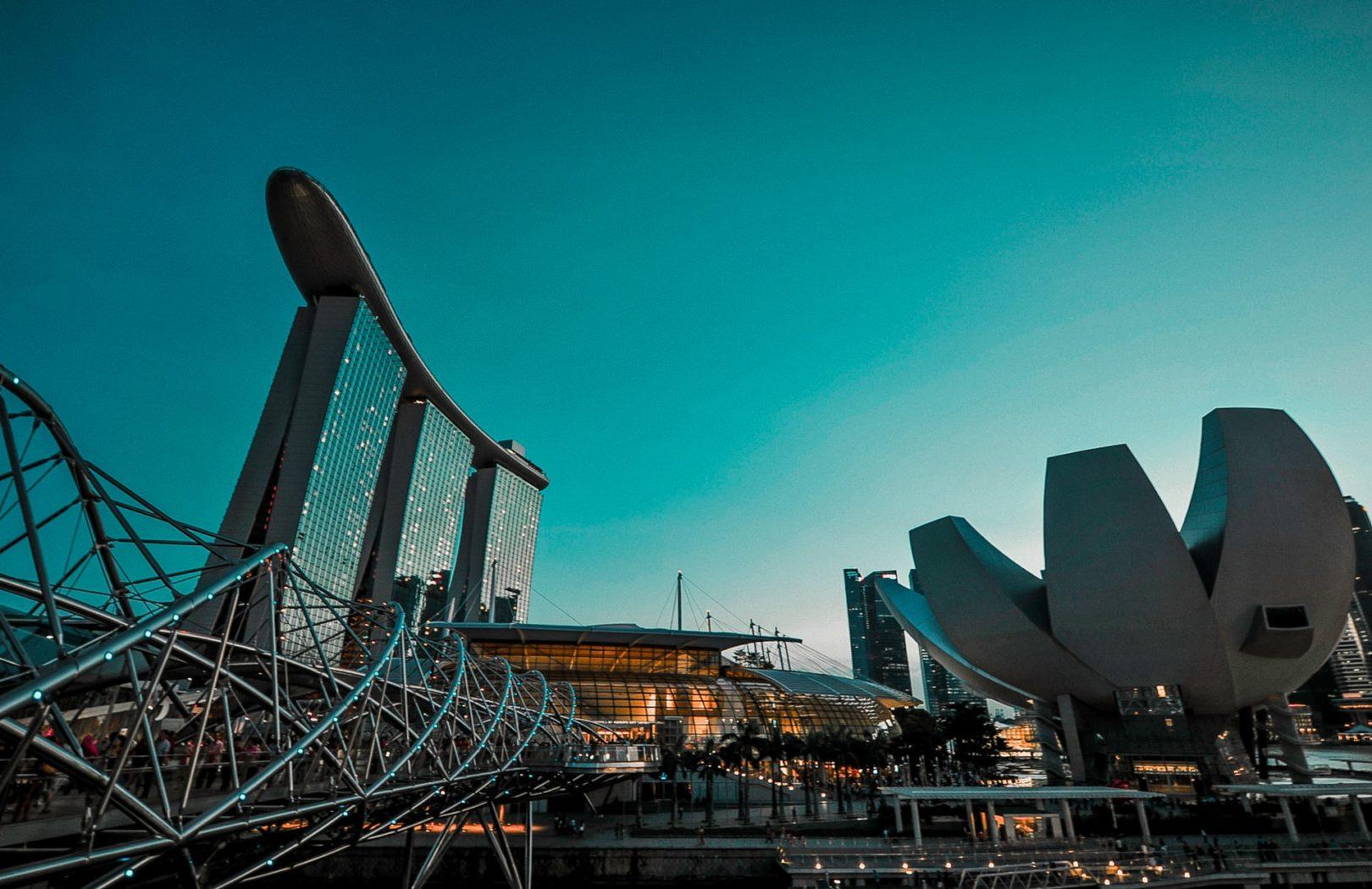 Singapura. Photo by Victor He - Unsplash